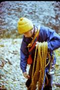 Rock Climbing Photo: Billy Barber 1972