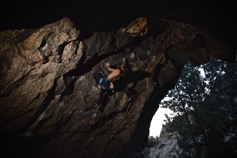 Rock Climbing Photo: Andrew Smiser.