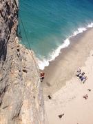 Rock Climbing Photo: LilIan Lev topping out