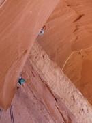 Rock Climbing Photo: upper Epitaph