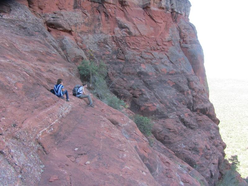 Rock Climbing Photo: SSC approach