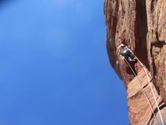 Rock Climbing Photo: Black Arrow