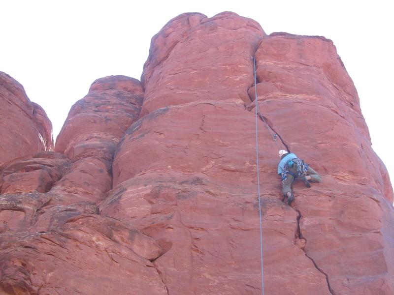 Rock Climbing Photo: Tenacious Calculus
