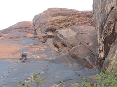 Rock Climbing Photo: Straight Shooter