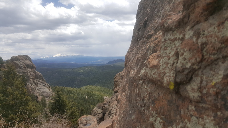 Rock Climbing Photo: View from the crag
