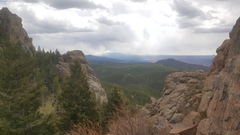 Rock Climbing Photo: View from the crag.