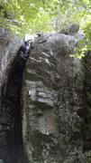 Rock Climbing Photo: This is an easy, dirty and enjoyable climb in the ...