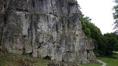 Rock Climbing Photo: The majority of Neuhauser Wand. Not the best pictu...