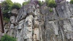 Rock Climbing Photo: The left side of Neuhauser Wand