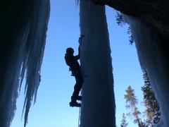 Rock Climbing Photo: Spearfish canyon