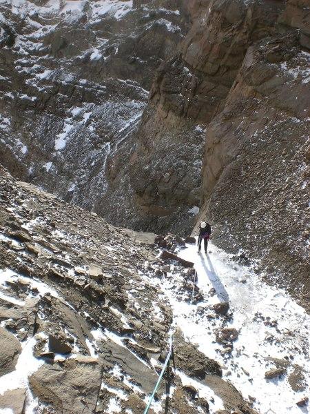 Rock Climbing Photo: 3rd pitch rap
