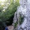 Base of crag 3.