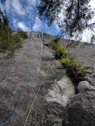Rock Climbing Photo: 5th pitch of St. Vitus Dance.
