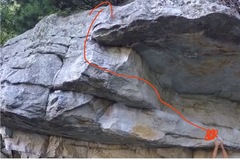 Really great problem.. off routes the lower rail