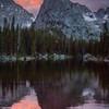 Lone Eagle Peak in all its glory.