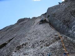 Rock Climbing Photo: Pitch 5.