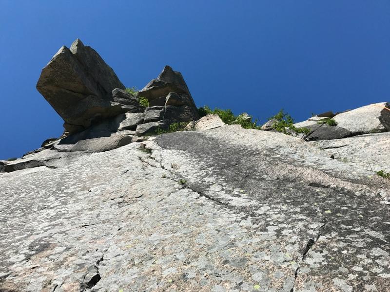 Rock Climbing Photo: Old Man's Dog