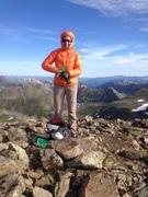 Rock Climbing Photo: Tracy on Twinning peak