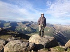 Rock Climbing Photo: On UN 13,500