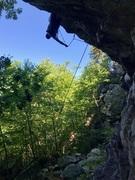 Rock Climbing Photo: finally sending this thing