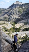 Rock Climbing Photo: After a short, steep section of the wall, we usual...