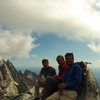 Top of the middle teton