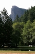 Rock Climbing Photo: The view from the Tower Rock RV campground and U-f...