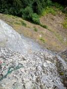 Rock Climbing Photo: Taken from P4