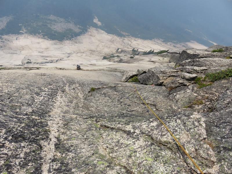 Rock Climbing Photo: Corner on Pitch 11.