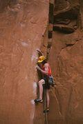 Rock Climbing Photo: Under the Boardwalk (5.12b/c)