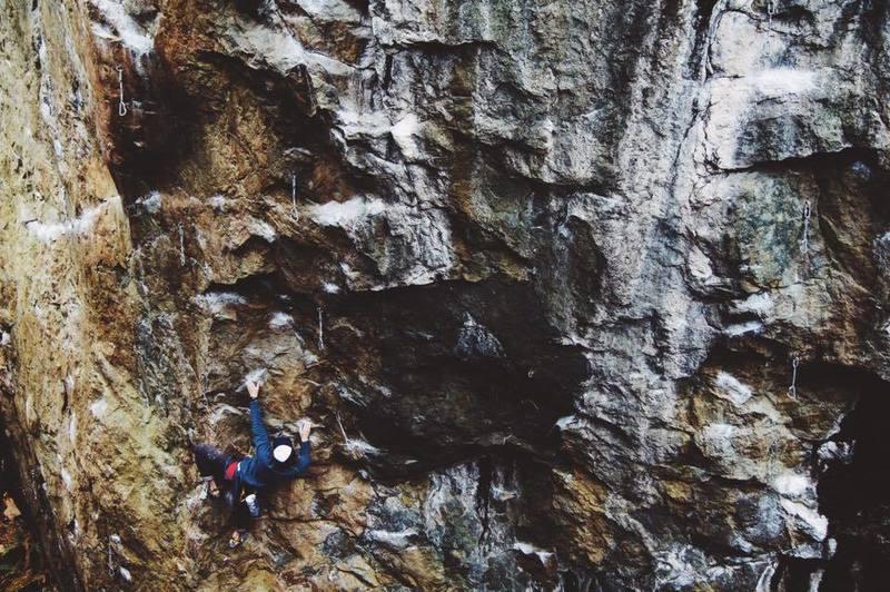 Rock Climbing Photo: Secret climb, Secret crag