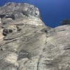 Leading 'Pine Line' on the Nose of El Cap...