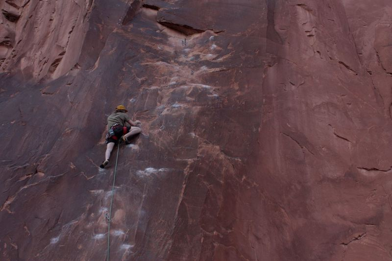 Rock Climbing Photo: Really fun onsight, trust the holds!!