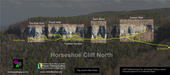 Rock Climbing Photo: Horseshoe Cliff North