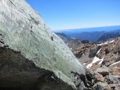 Rock Climbing Photo: Serpentine boulder ledge