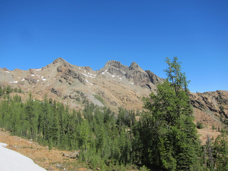 As seen from Ingall's Pass