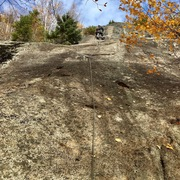Rock Climbing Photo: P1 - FA Arthur's Arete