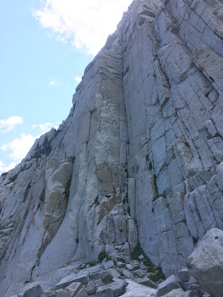 Rock Climbing Photo: Photo of the entire route
