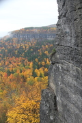 Rock Climbing Photo: View from the Cave Wall looking at Horseshoe North...