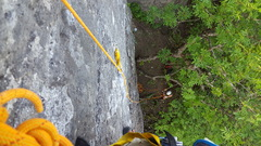 Rock Climbing Photo: On Wizard of Schenectady at Hailes Cliff South