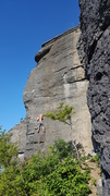 Rock Climbing Photo: On Permian Extinction in the afternoon. Horseshoe ...