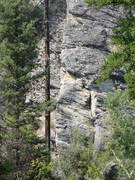 Rock Climbing Photo: The arete that is Pooh's Arete and defines the One...