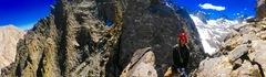 Rock Climbing Photo: First rappel!!
