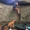 Mid summer climb - Gaping Crack