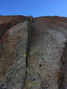 "Rock Climbing Photo: Looking up at the ""death blocks"". These ..."