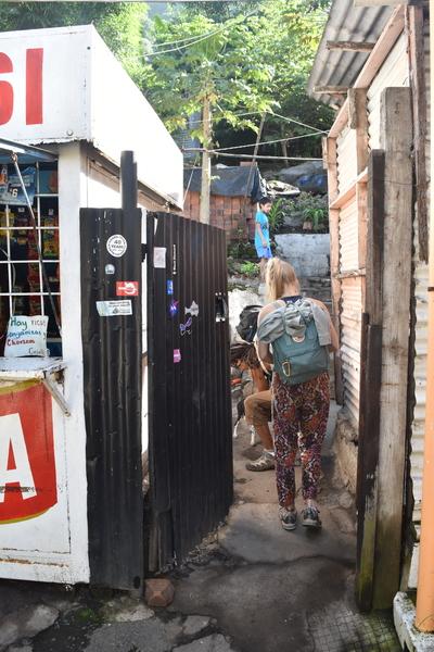 6. Julios Store, where you enter to go to the crag.