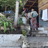 7. Walking thru Julios Store/house
