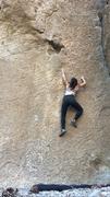 Rock Climbing Photo: Cass F. on The Hole