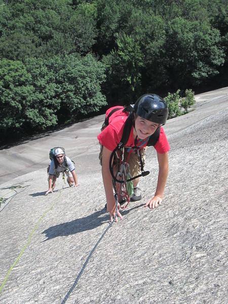 Rock Climbing Photo: Tom on P3