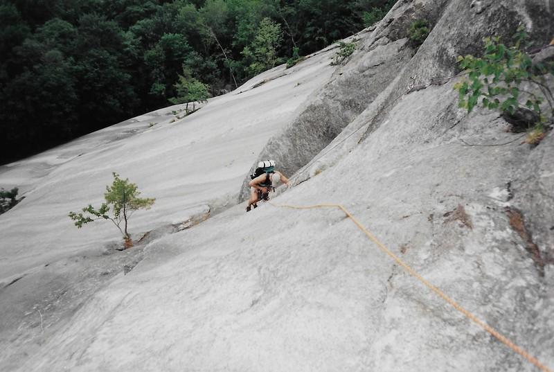 Rock Climbing Photo: Rick V on Crux Corner